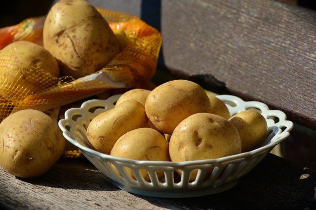 Maquinaria de patatas